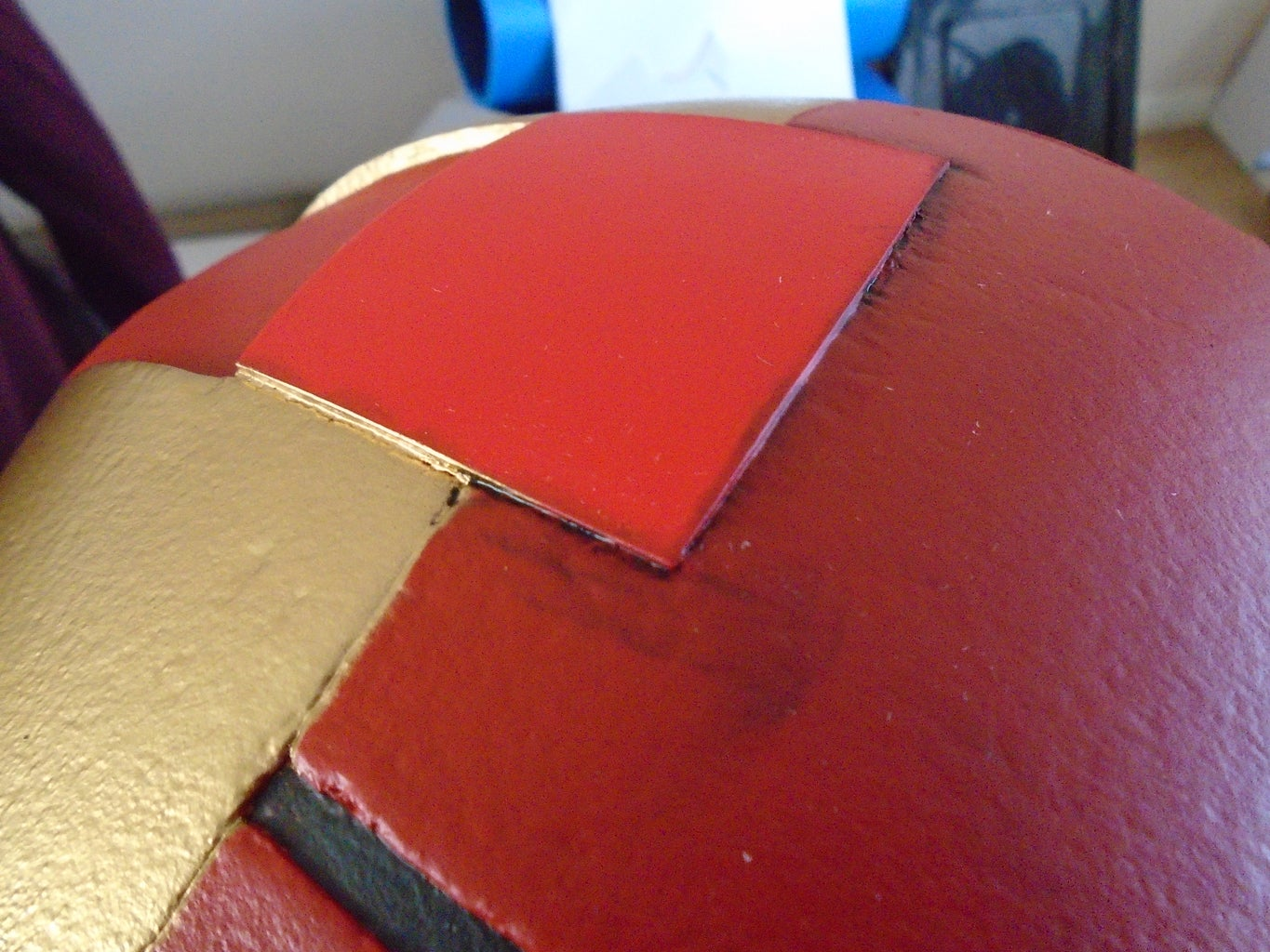 Gold Paint, Weathering and Clear Coat