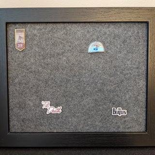 Enamel Pin Frame Display