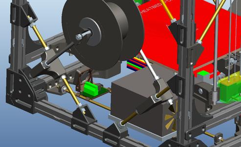 Assemble Heatbed Components
