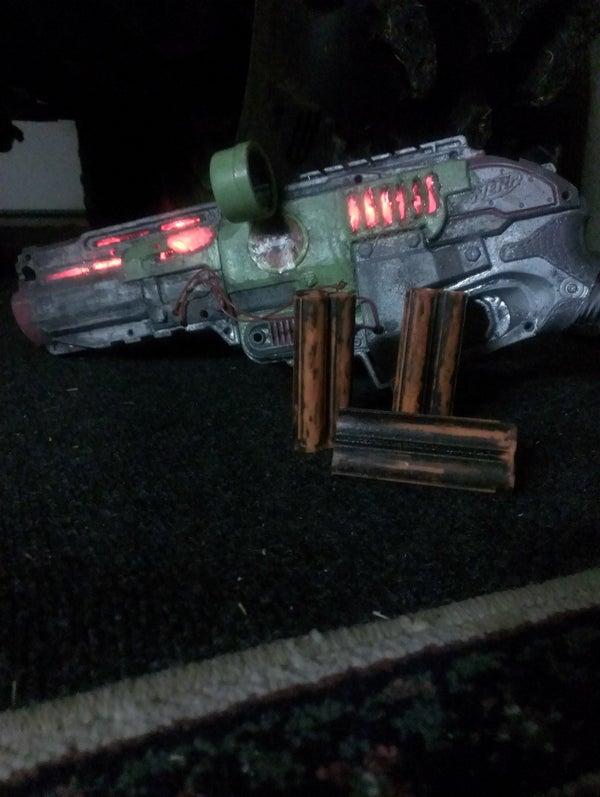 Light Up Nerf Gun!