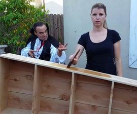 How to Make a DIY Coffin Shelf