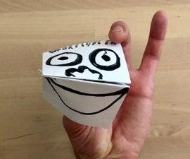 Hand Paper Puppet