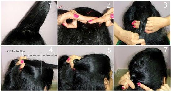 Dutch Braid Hairstyle Tutorial