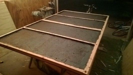 Asphalt Emulsion and Hard Foam Insulation