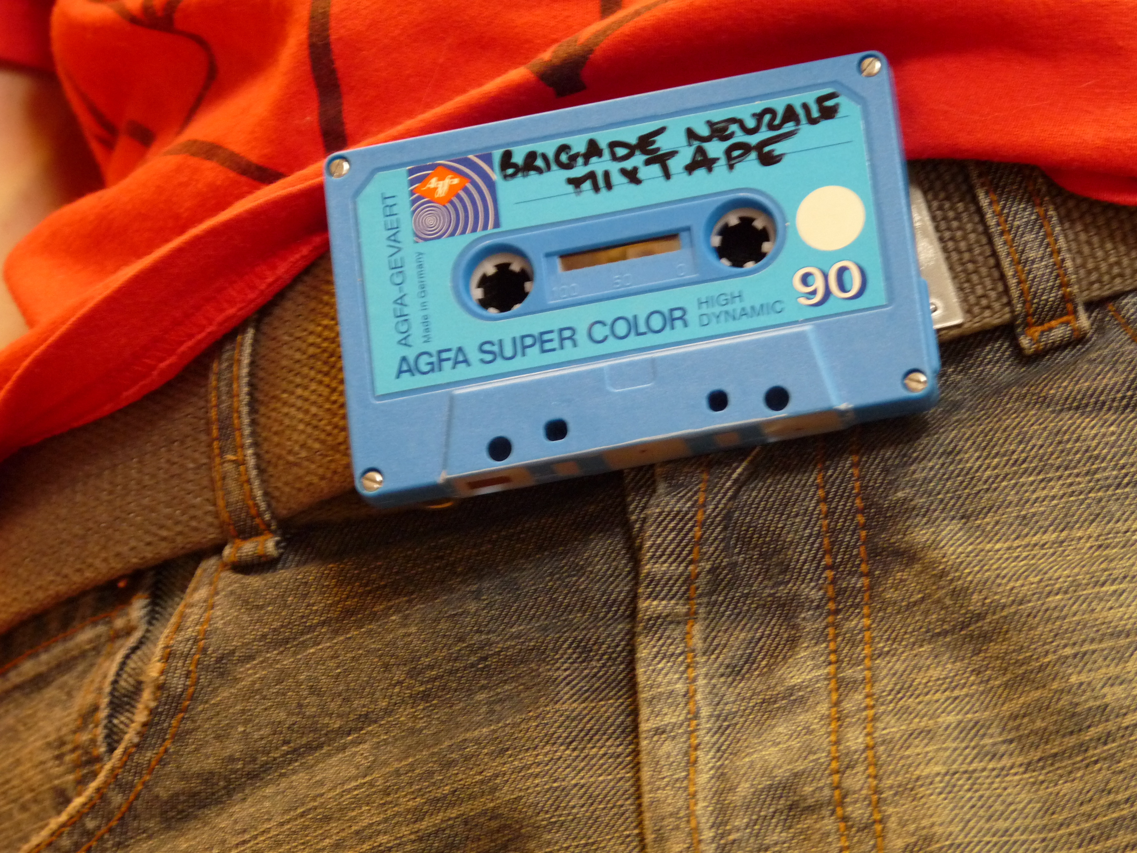 DIY #6 Belt Mixtape - A Tape Belt Buckle