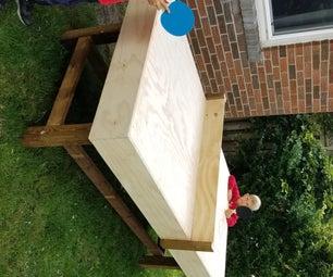 DIY Ping Pong桌子