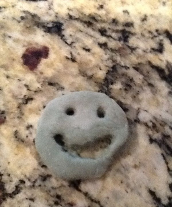 Salt Dough Smilies