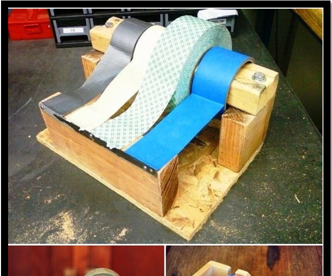 How to make a useful duct tape dispenser from a tin can
