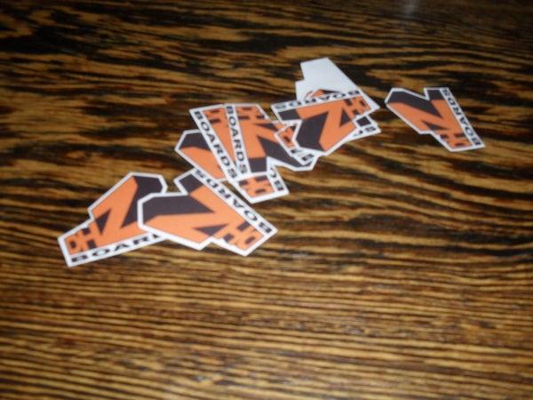 Laminated Stickers