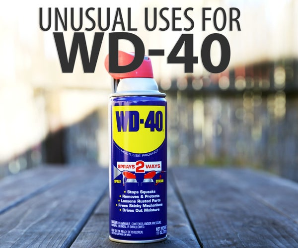 Unusual Uses for WD-40