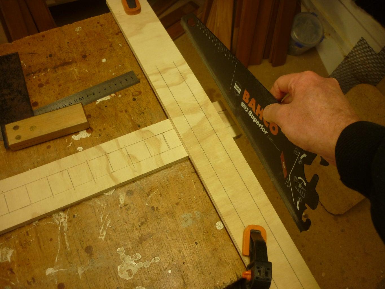 Cutting Wooden Board