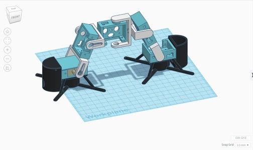 Inchworm Robot - Modular, Move Allsides With BT App