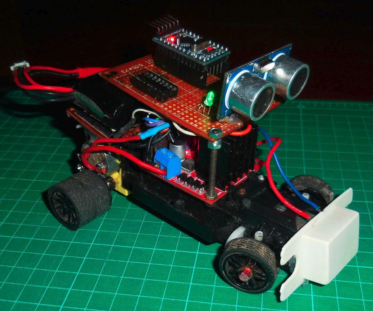 Avoidance Robot Arduino