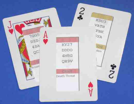 How to make a custom set of playing cards - Approach 2