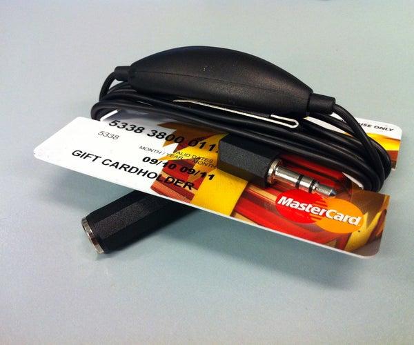 Simple Cable Earphone or Headphone Organiser