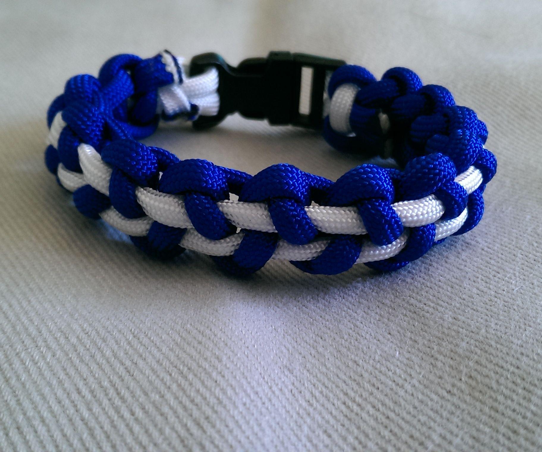 Stitched Solomon Paracord Bracelet