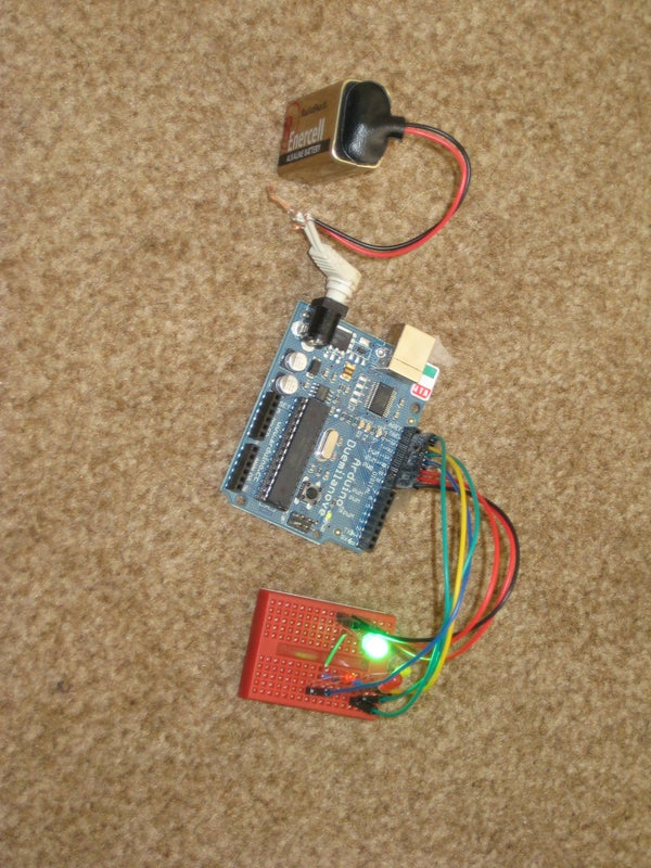 Power Arduino From a 9v Battery.