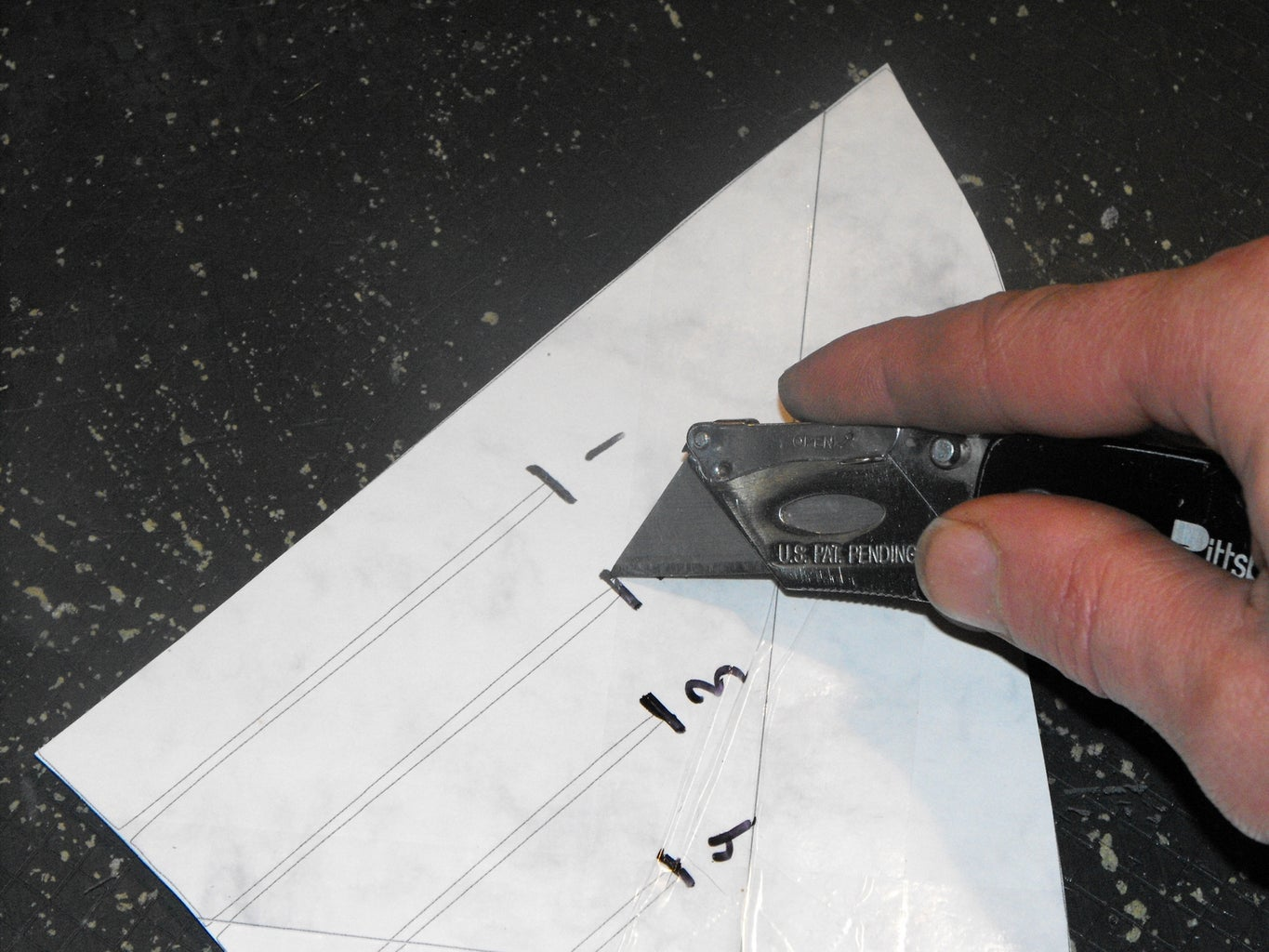 Cut Out All Template Pieces