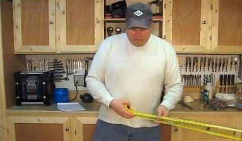 Stupid tape measure trick