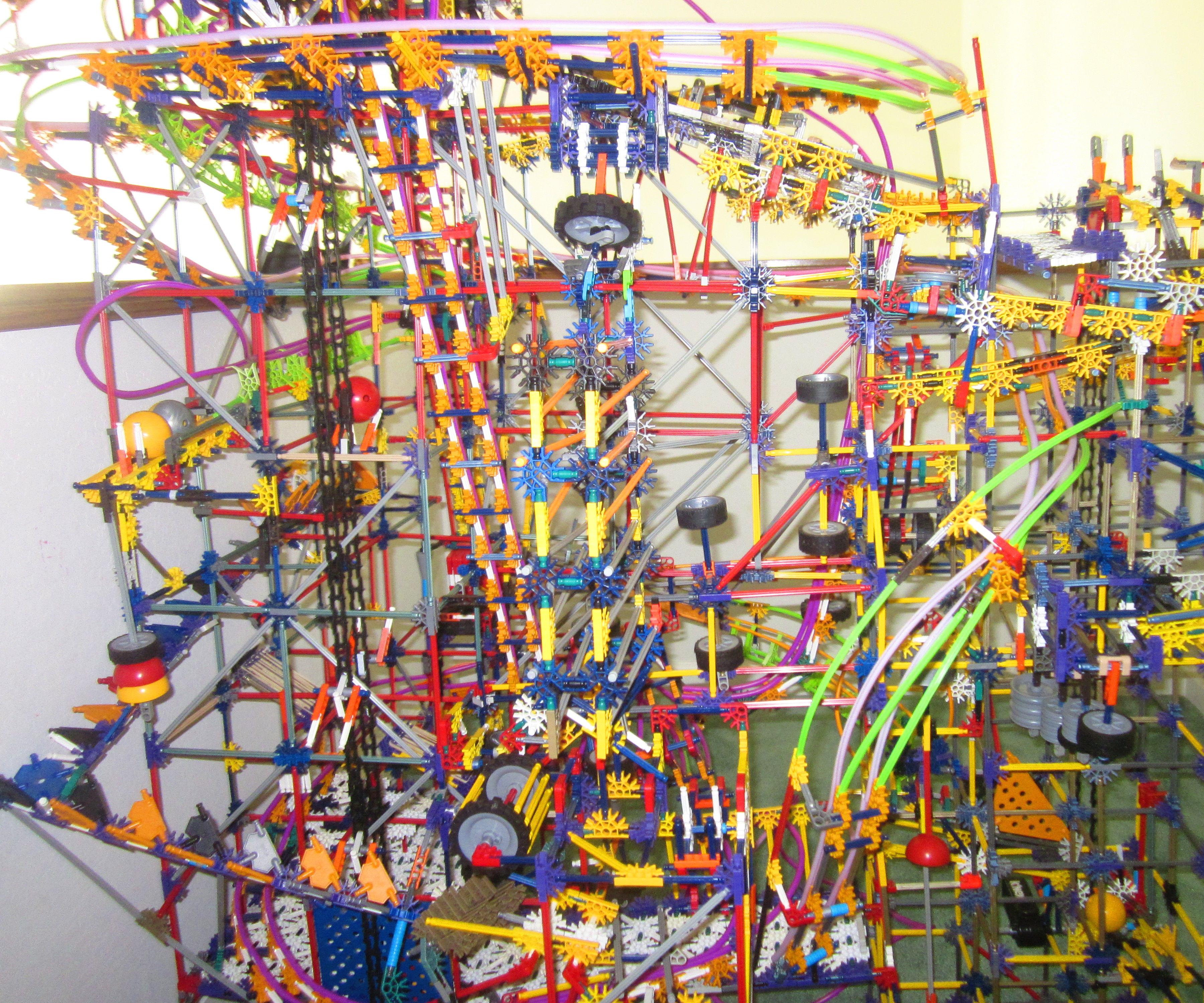 K'nex ball machine the element new elements