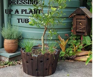 Planter Tub Cover