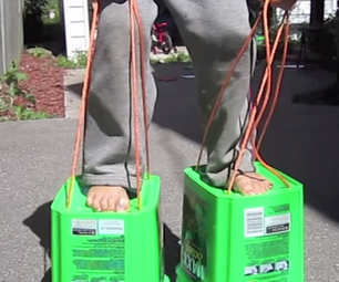 Simple 'tin Can' Walking Stilts for Kids