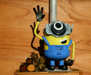 Minion Wood Burner
