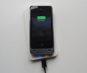 3D Printed Wireless IPhone Charger & Case