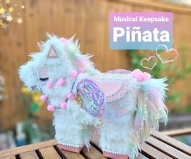Musical Keepsake Pinata