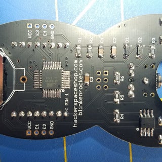 BLINKENROCKET - Soldering Tutorial