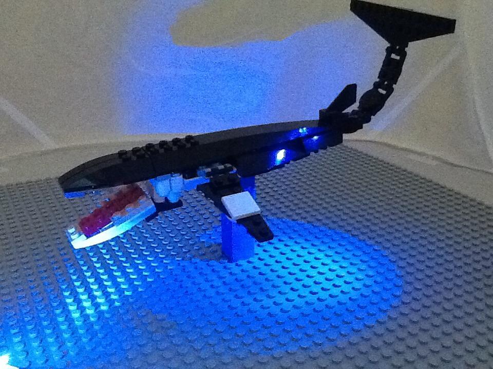 How To Make A Lego Minke Whale