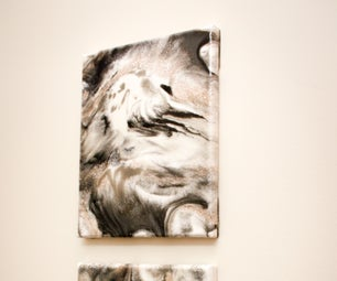 Faux Marble - Resin Painting