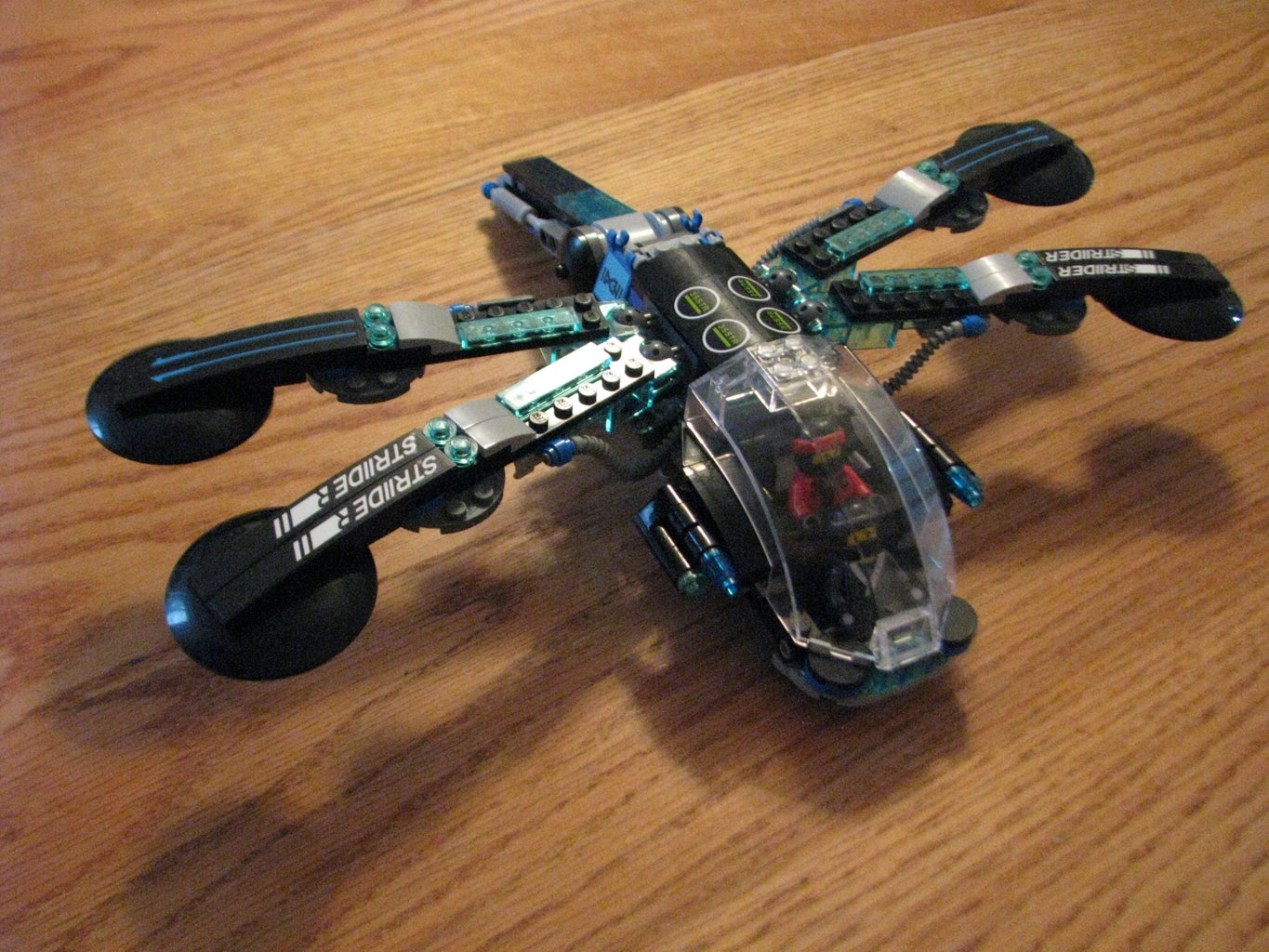 Alternate Directions for LEGO Ninjago Movie Water Strider 70611- Dragonfly
