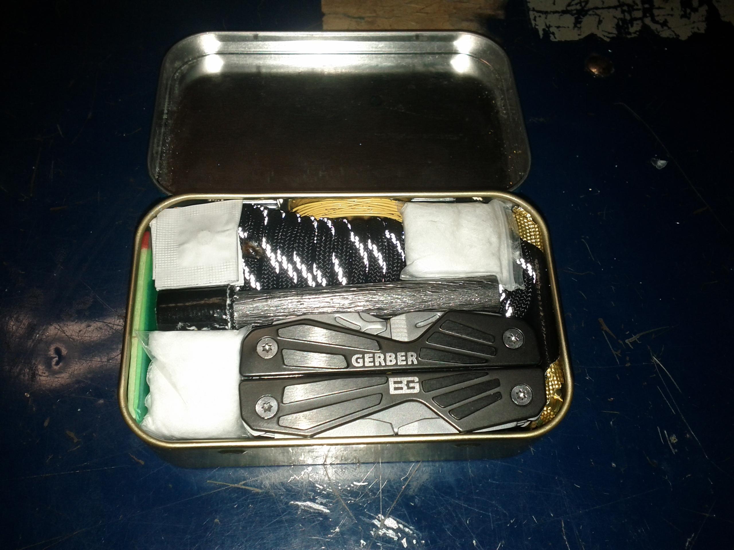 Better Altoids Survival Kit