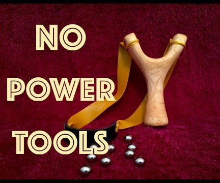 How to Make a Simple Slingshot Without Power Tools