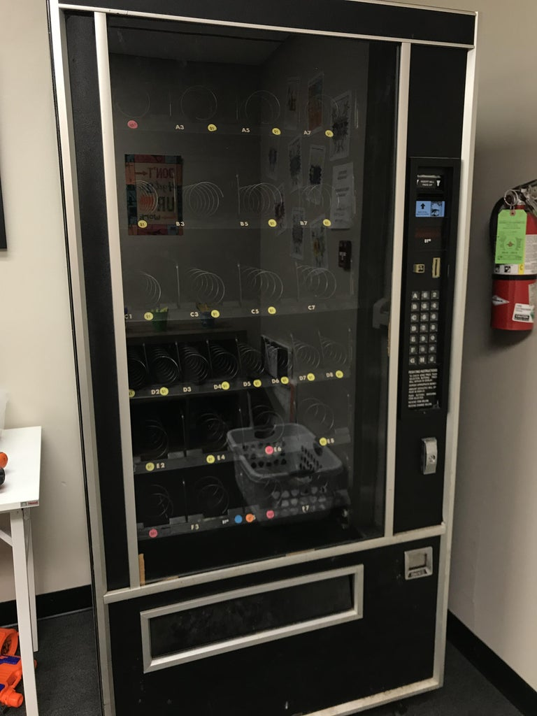 Step 3: Find a Vending Machine to Use and Wire Up Raspberry PI