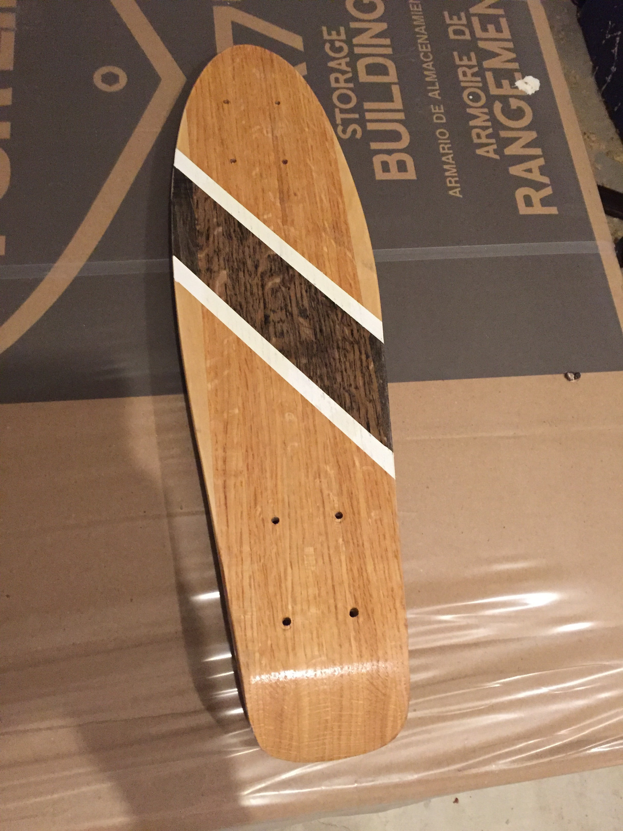 Wooden Penny Board