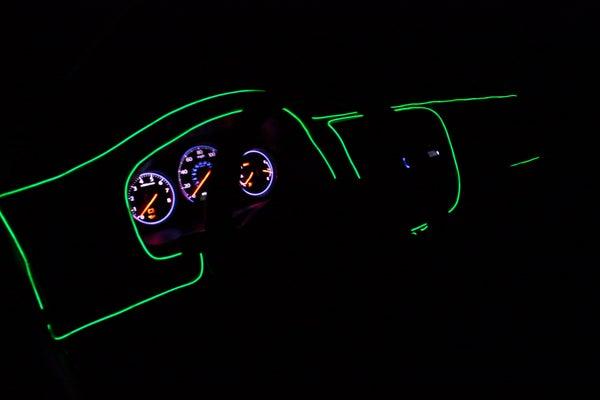 EZ-EL Wire Green Car Kit Step-By-Step Tutorial