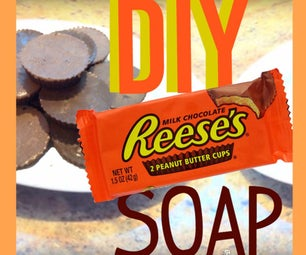 DIY Reese的花生酱杯子肥皂!!