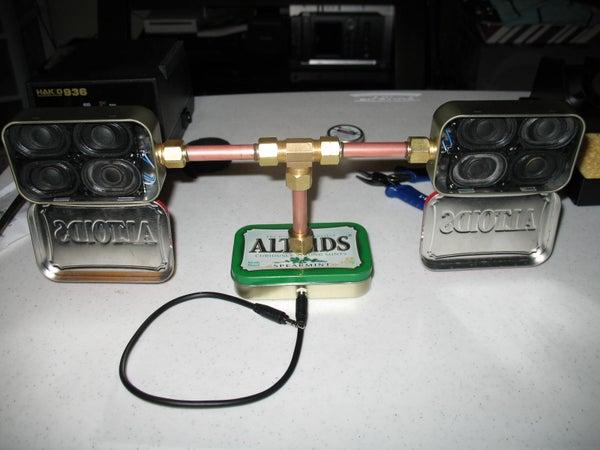 Portable Altoids Speaker System