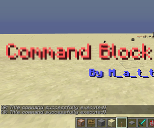 Command Block/ How To