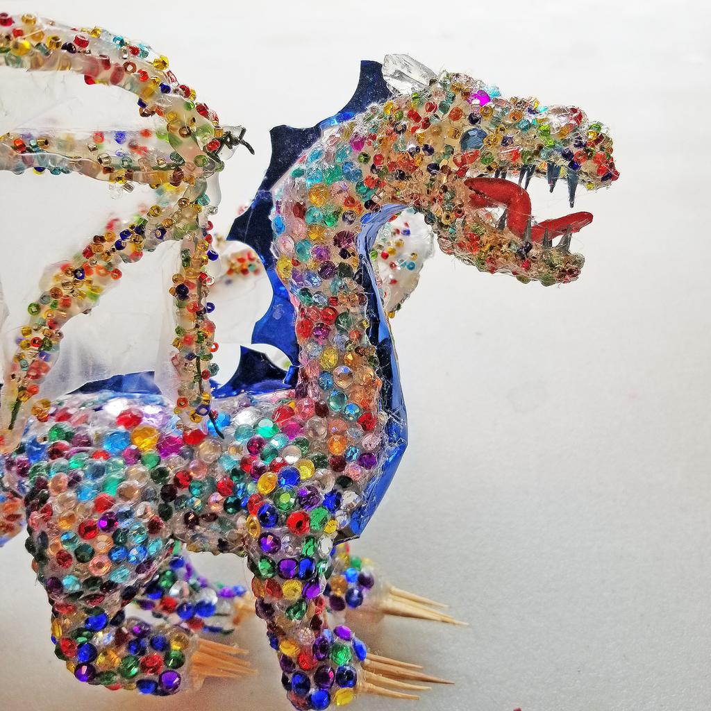 Make a Hot Glue Dragon!