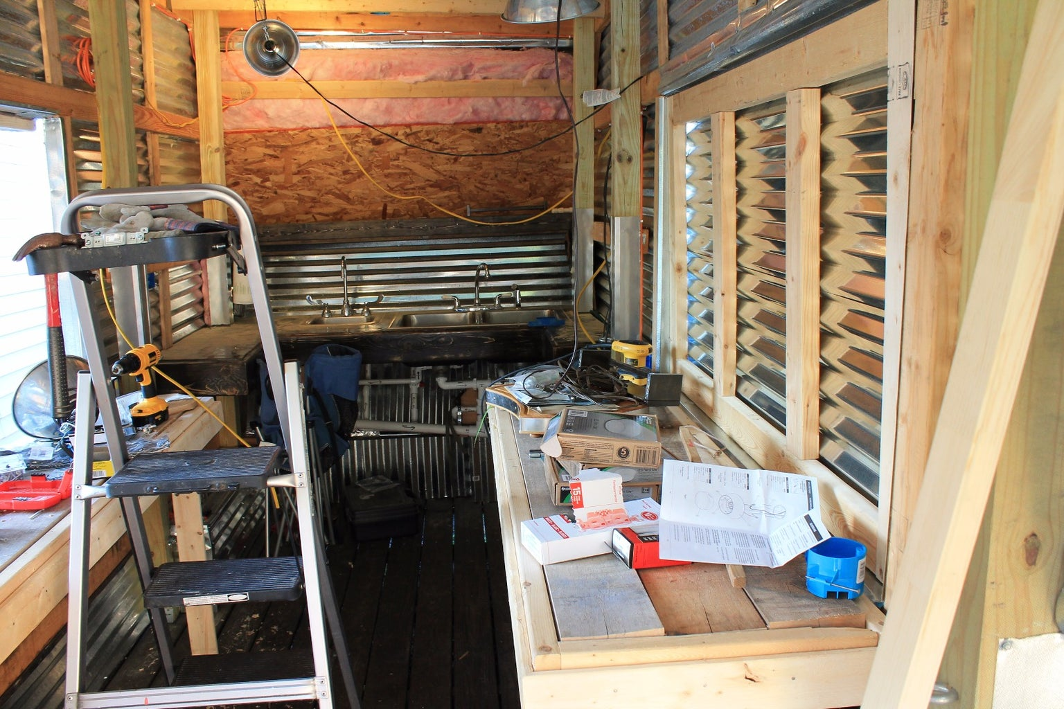 Starting on the Inside Build / Tables and Windows
