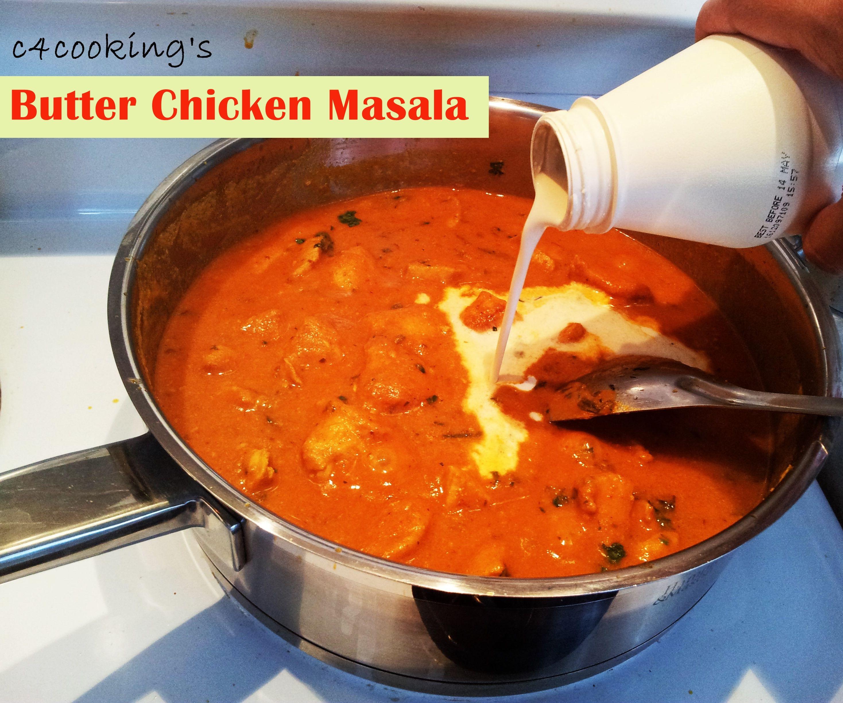 Best Butter Chicken Masala Recipe - Indian Chicken Makhani  Recipe