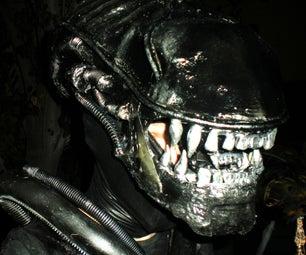 Alien Warrior Costume From Aliens