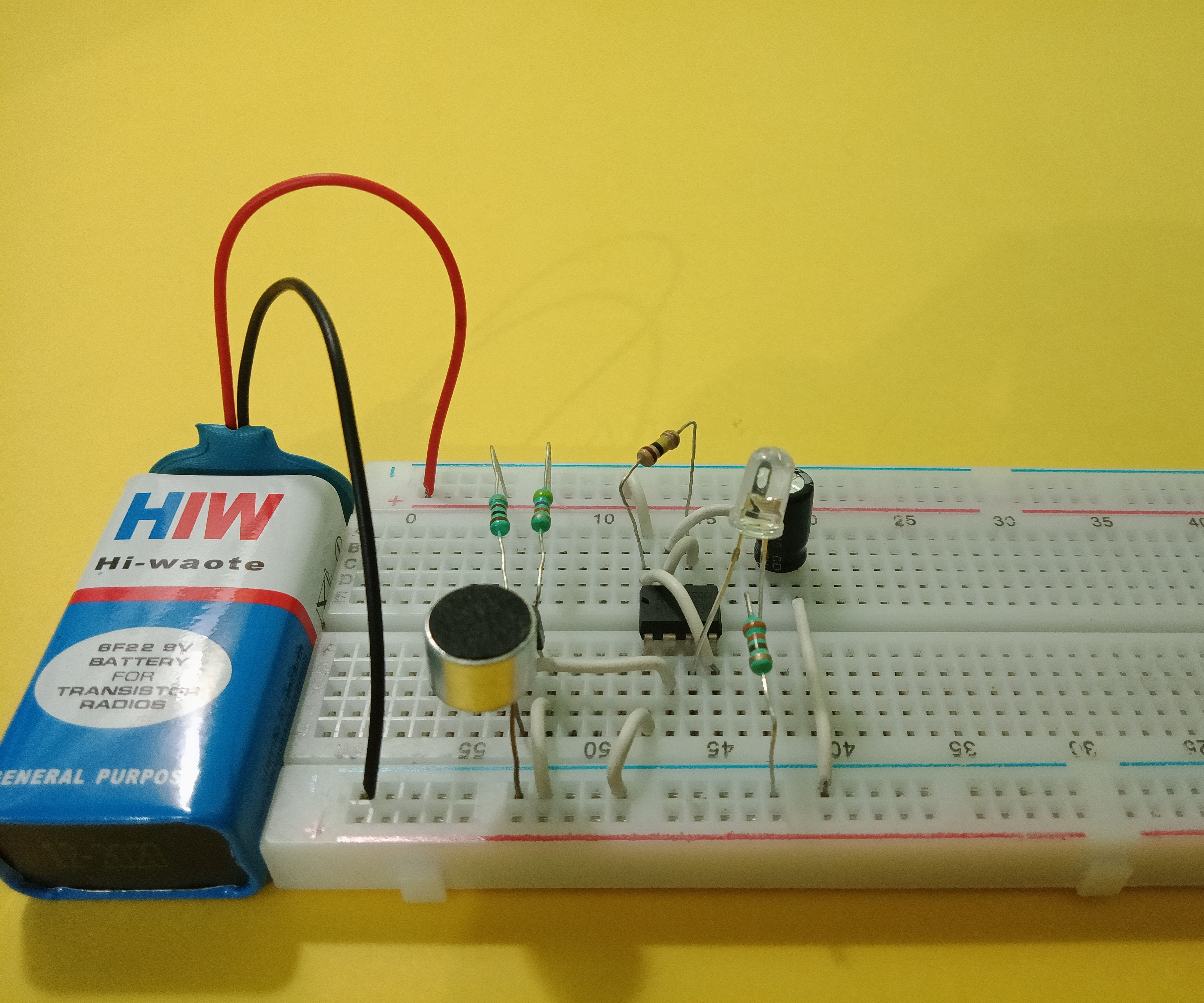 Two Transient Clap Switch Circuits
