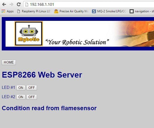 How to build a ESP8266 Web Server