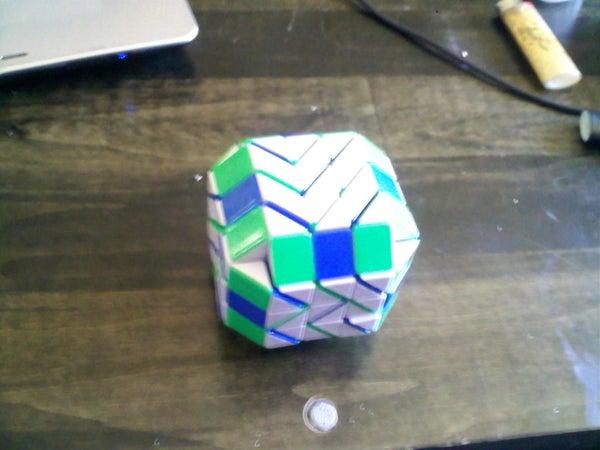 Rubik's Snake Puzzle Box