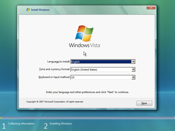 Install Windows Vista directly from Hard drive – NO DVD or USB needed!