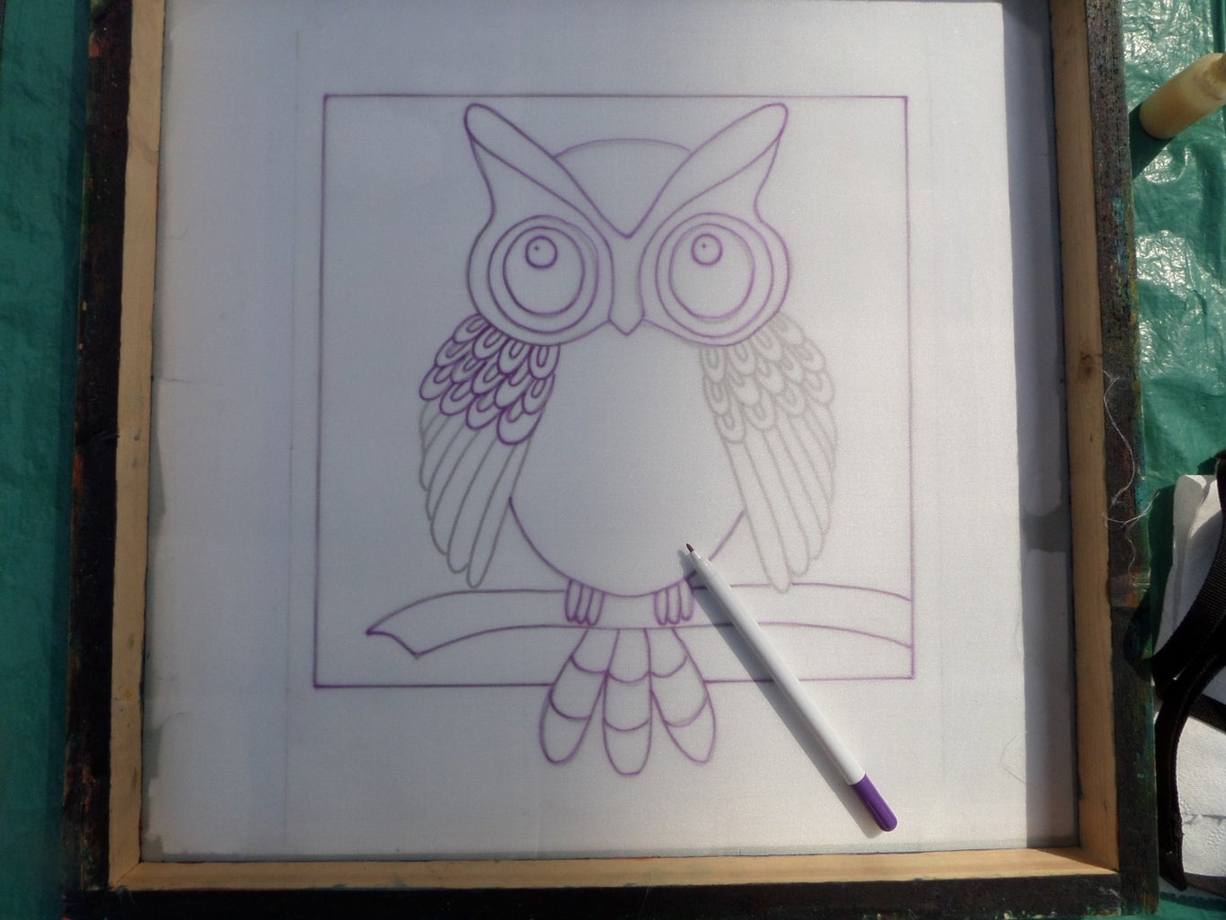 Tracing From the Owl Template.